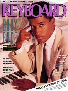 Keyboard magazine cover